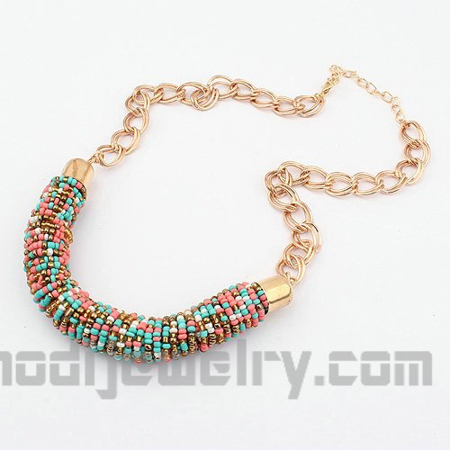 beaded fashion necklace fashion jewelry 2012 fashion