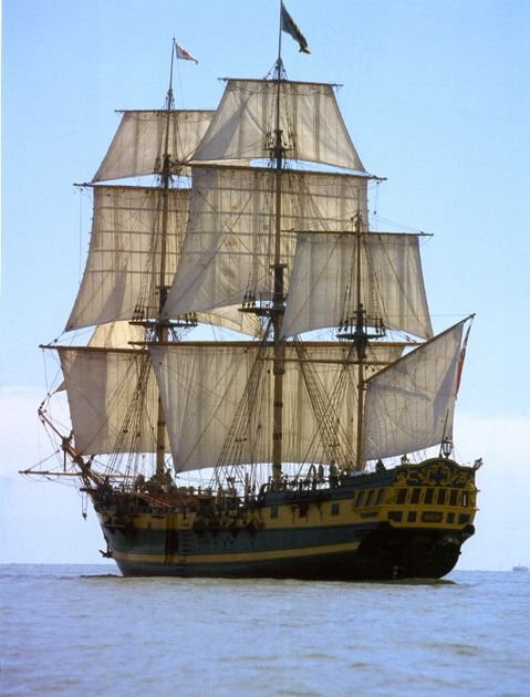 le grand turk voilier trois mats carre    prener si vous