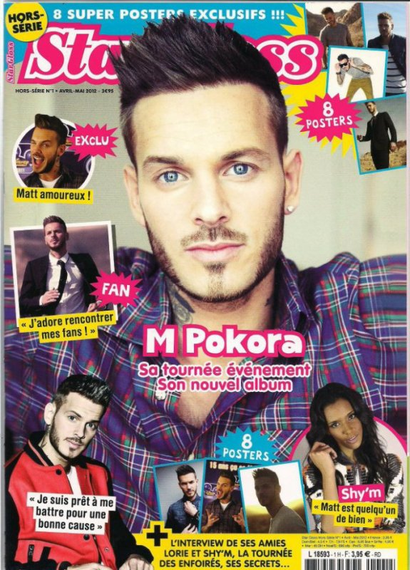 magazine de matt pokora 2012 blog speciale matt pokora. Black Bedroom Furniture Sets. Home Design Ideas